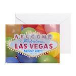Las Vegas Birthday Party! Cards Pk of 10