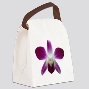 purple orchid Canvas Lunch Bag