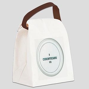 I CORINTHIANS 13 Canvas Lunch Bag
