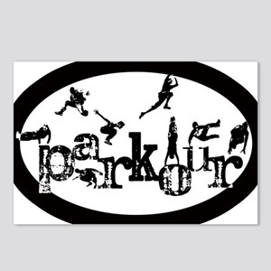 Parkour Postcards (Package of 8)