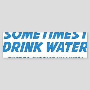 WaterLiverSupr1D Sticker (Bumper)
