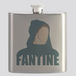 Fantine - Anne Hathaway - Les Miserables Mov Flask