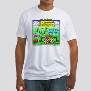 Ants at Picnic Fitted T-Shirt