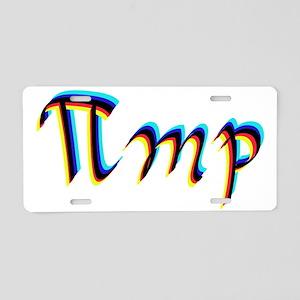 Pimping Aluminum License Plate