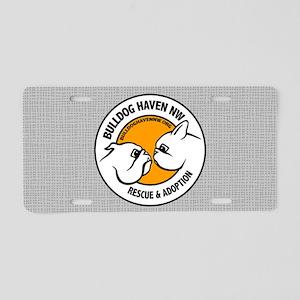 BHNW LOGO - Aluminum License Plate