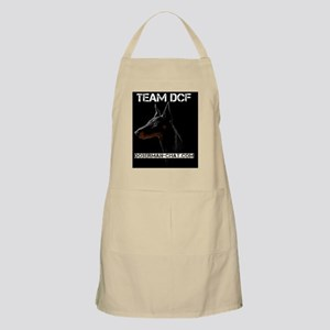 Team DCF logo dark Apron