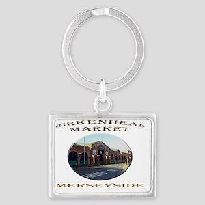Birkenhead Market Landscape Keychain