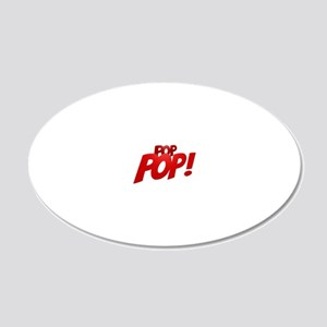 PopPop! 20x12 Oval Wall Decal