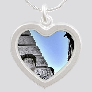 on-guard Silver Heart Necklace