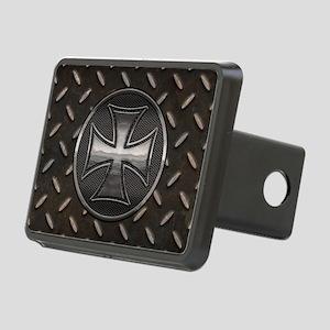 grid-iron-malt-OV Rectangular Hitch Cover