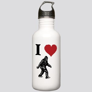 I LOVE SASQUATCH BIGFO Stainless Water Bottle 1.0L