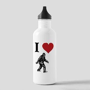 I LOVE SASQUATCH BIGFO Stainless Water Bottle 1.0L