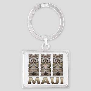 Maui TIKI Landscape Keychain