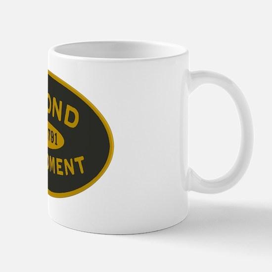 Second Amendment Sticker Mug