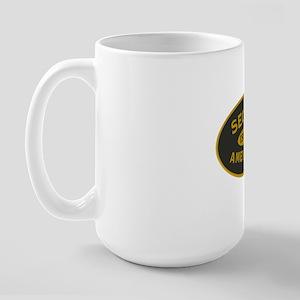Second Amendment Sticker Large Mug