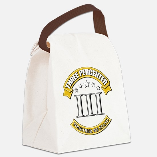 Three Percenter Canvas Lunch Bag