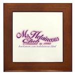 MsHelaineous Club Framed Tile