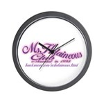 MsHelaineous Club Wall Clock