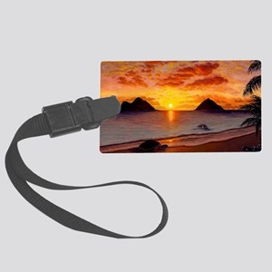 Morning Stretch Large Luggage Tag