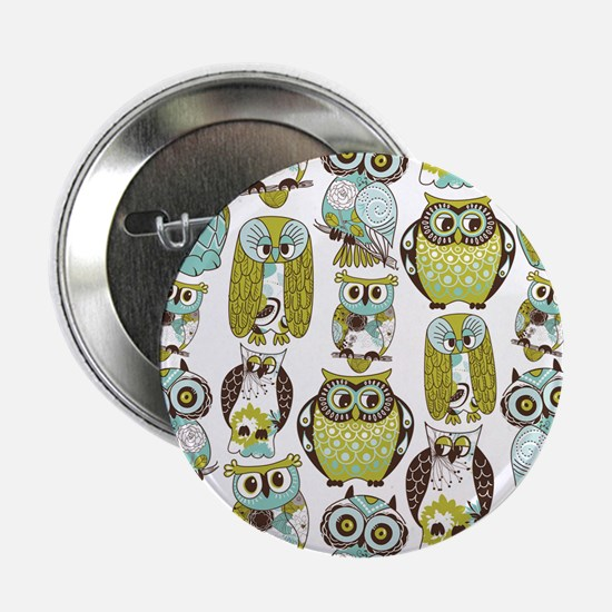 """Give A Hoot 2.25"""" Button"""