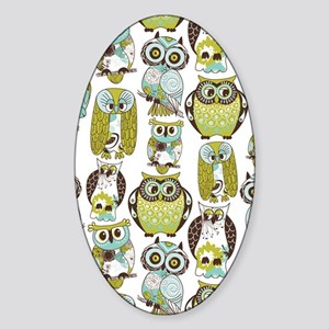 Give A Hoot Sticker (Oval)