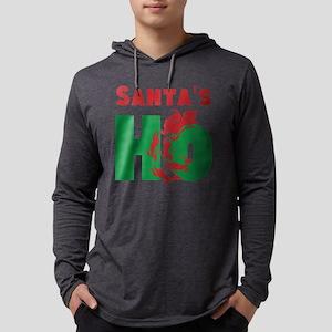 Santas Ho Mens Hooded Shirt