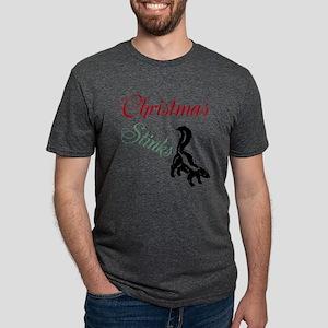 Christmas Stinks Mens Tri-blend T-Shirt