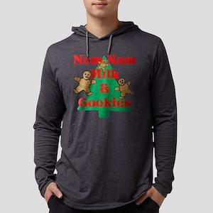 Nom Nom Milk Cookies Mens Hooded Shirt