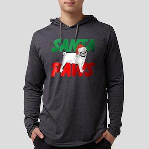 Santa Paws Mens Hooded Shirt