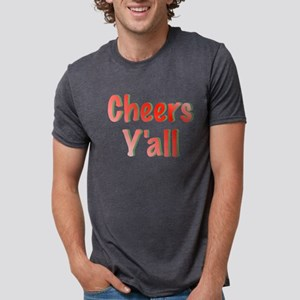 Cheers Y'all Mens Tri-blend T-Shirt