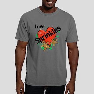 Love Sprinkles Mens Comfort Colors Shirt