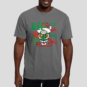 Elf On An Ugly Shirt Mens Comfort Colors Shirt