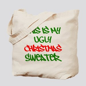This Is My Ugly Christmas Sweater Tote Bag