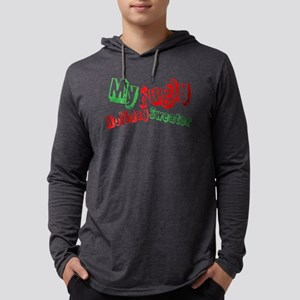 My Fugly Holiday Sweater Mens Hooded Shirt