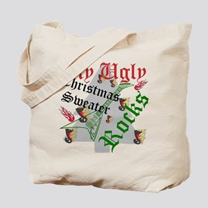My Ugly Christmas Sweater Rocks Tote Bag