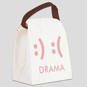 Drama-con Canvas Lunch Bag