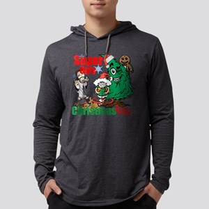 Super Ugly Christmas Shirt Mens Hooded Shirt