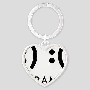 Drama-con Heart Keychain