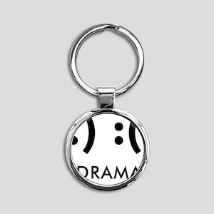 Drama-con Round Keychain