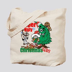 Super Ugly Christmas Shirt Tote Bag