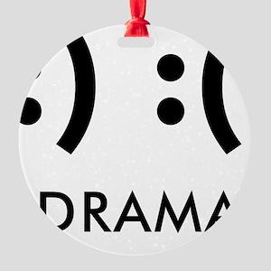 Drama-con Round Ornament