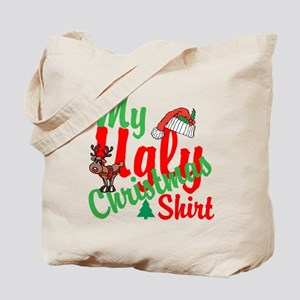 Ugly Christmas Shirt Tote Bag