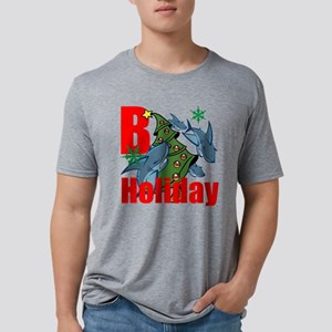 B Holiday Mens Tri-blend T-Shirt