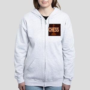 Chess King Women's Zip Hoodie