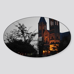 Akron Cathedral Sticker (Oval)