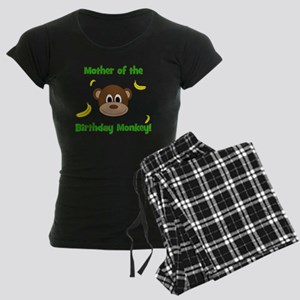 Mother of the Birthday Monke Women's Dark Pajamas