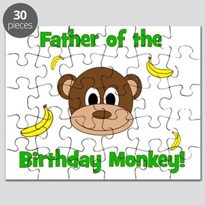 Father of the Birthday Monkey! Puzzle