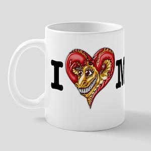 I Heart Madge Bumper Sticker (white) Mug