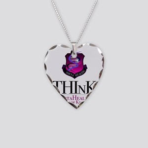 THInK Necklace Heart Charm