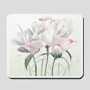 Beautiful Peony Painting Mousepad